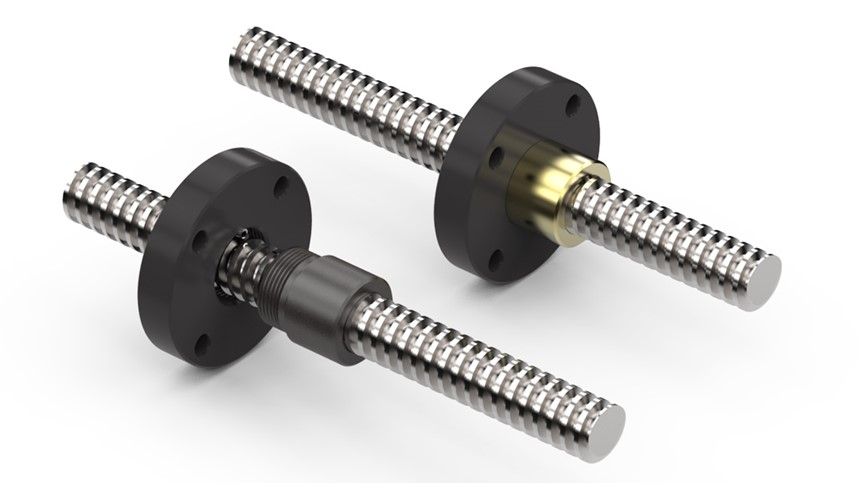 How Plastic Acme Nuts Resolve Lead Screw Challenges