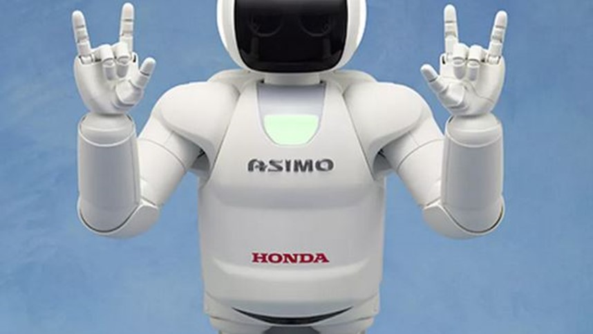 ASIMO  - stands for Advanced Step in Innovative Mobility.
