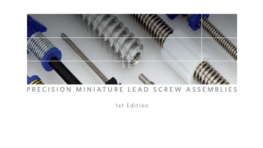 Helix Linear Technologies Releases NEW Lead Screw Catalog