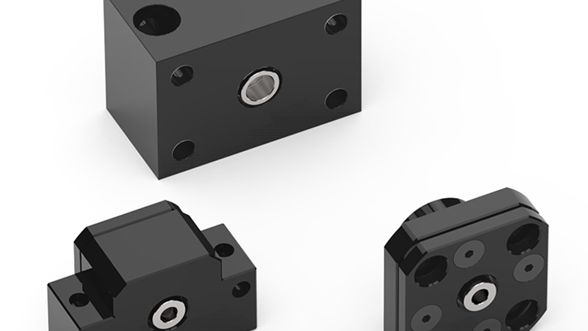 Helix Acme Lead Screw Standard Mounting Options